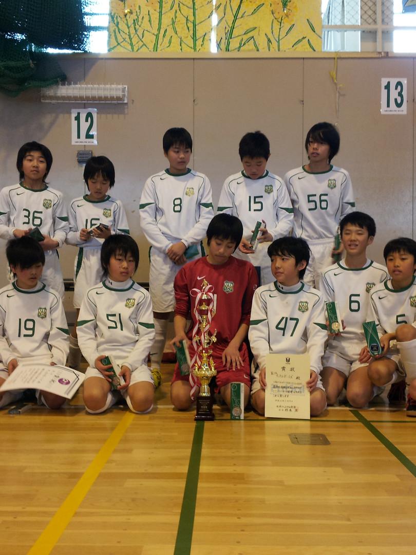 2013札幌フットサル全市準優勝!