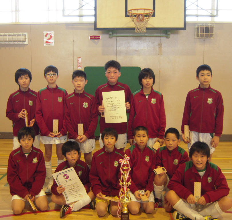 2011 札幌フットサル全市優勝!