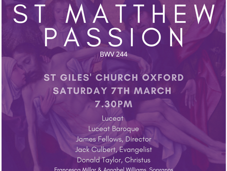 'Bach's Great Passion'