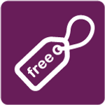 Free Tag - Purple