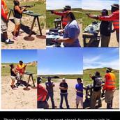 Gun safety outdoor shotting range