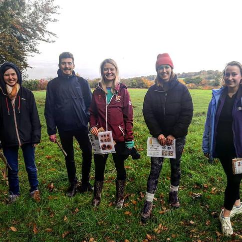 Team for Hazeldormice survey