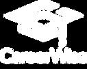 CareerWise Logo - Vertical - White - 300