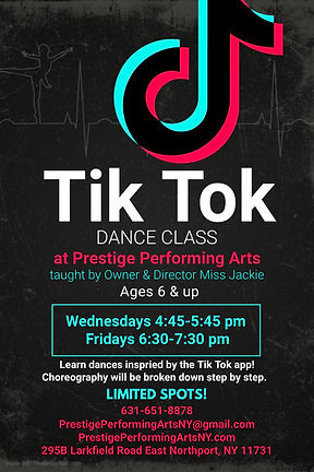 Copy of Tik tok dance competition flyer