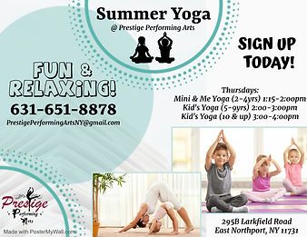 Copy of kids yoga lesson  template - Mad
