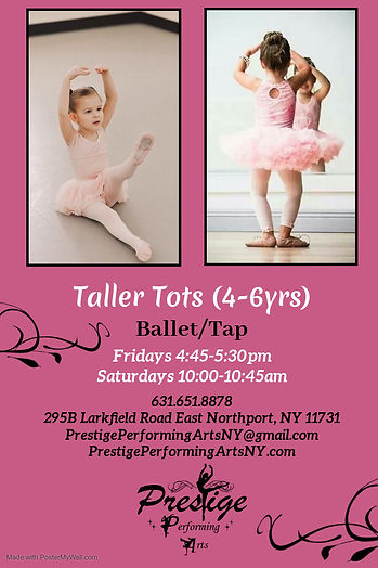 Copy of Ballet Academy Flyer - Made with