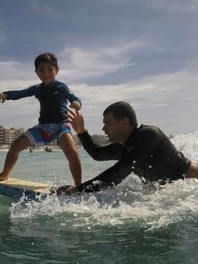 Especial Dia dos Pais: surf também é tradição de pai para filho