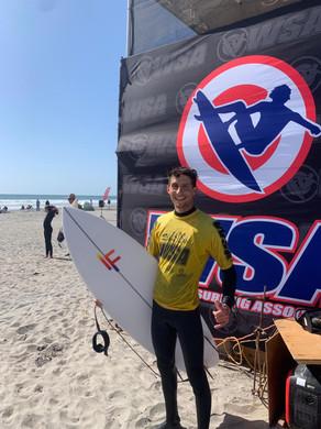 Yuri Fresia vence etapa do Western Surfing Association, nos EUA