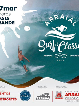 Arraial Surf Classic acontece em março