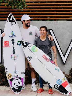 "Santacosta apresentará ""surfista surpresa"" como atleta da sua equipe"