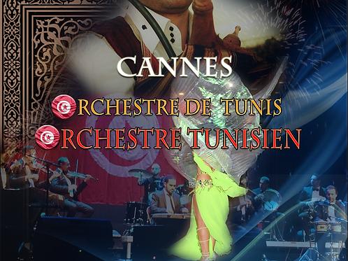 Orchestre tunisien à Cannes avec DJ