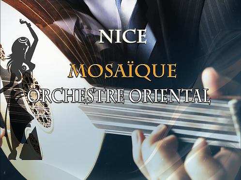 Orchestre oriental à Nice   Mosaïque