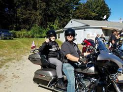Harley Motorcycle Run