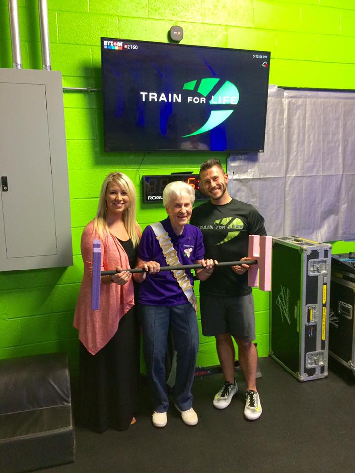 Train For Life Charity Night