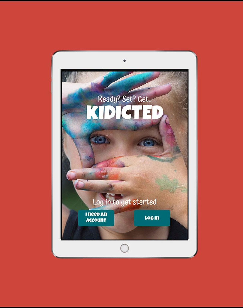 KIDICTED™ Landing Page