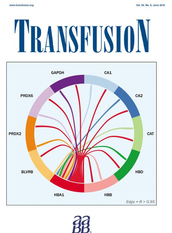 Transfusion cover - June 2016!