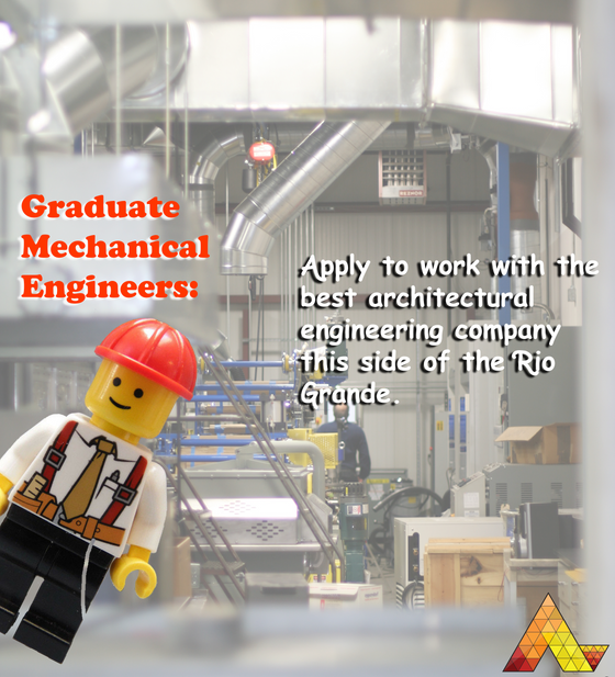 We're hiring a Graduate Mechanical.  Apply to work with the best architectural engineering compa