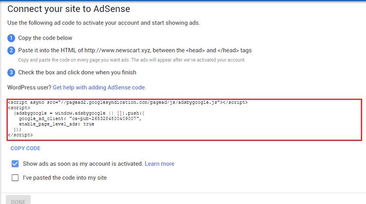 How to Create Adsense Account In Hindi