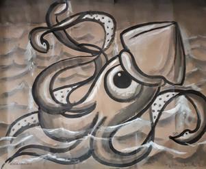 calamar ojo