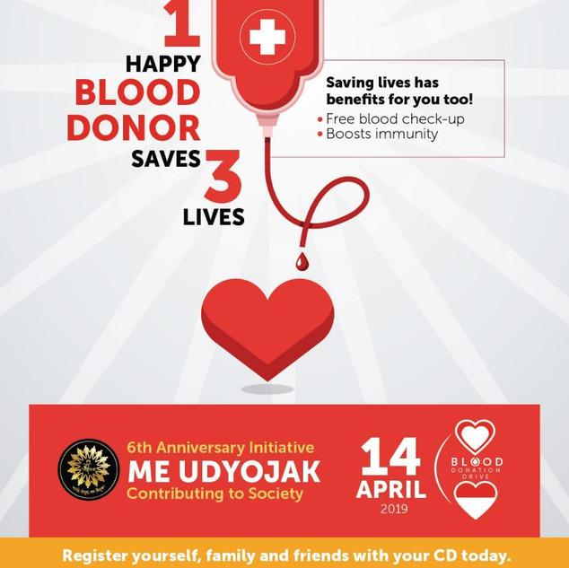 Meudyojak Foundation Day celebration with noble cause