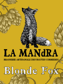 BLONDE FOX 4.5%   20 IBU
