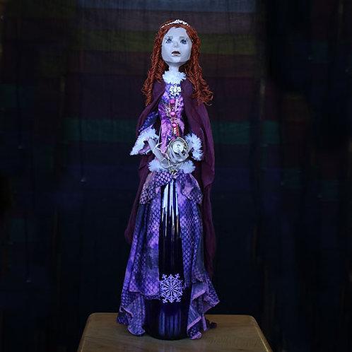 Purple Bottle Lady