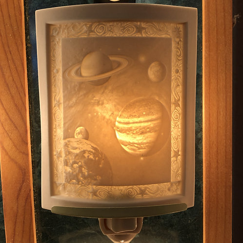 Celestial Bodies Porcelain Nightlight