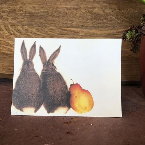 Pear Bunnies