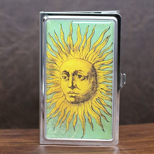 Vintage Sun Card Case