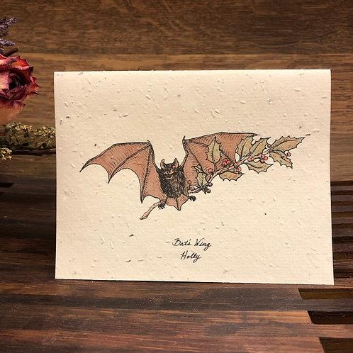 Plantable Bat Card