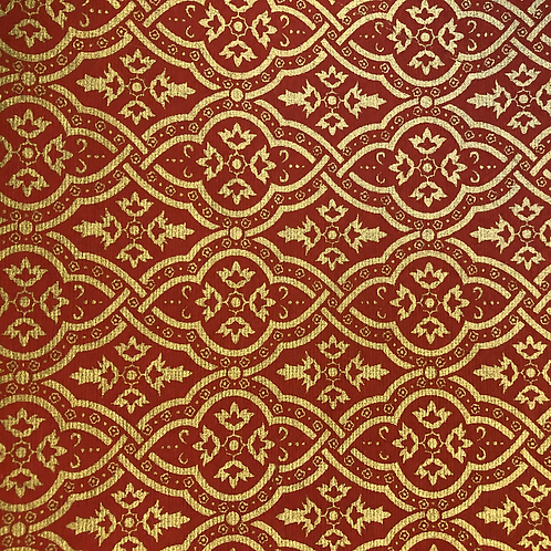 Red & Gold 8.5x11 Paper