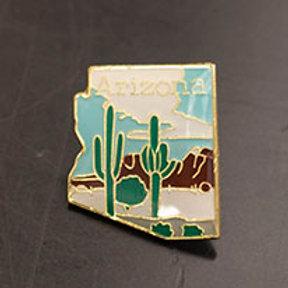 AZ Desert Enamel Pin