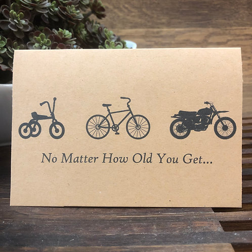 No Matter How Old You Get...