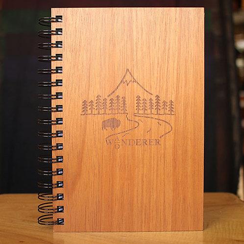Wooden Wonder/Wander Journal