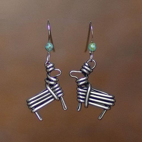 Split Twig Earrings