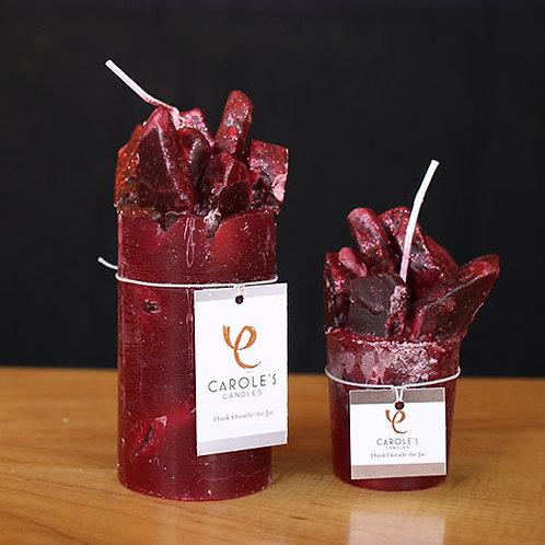 """Crystal"" Candle - Cranberry Craze"