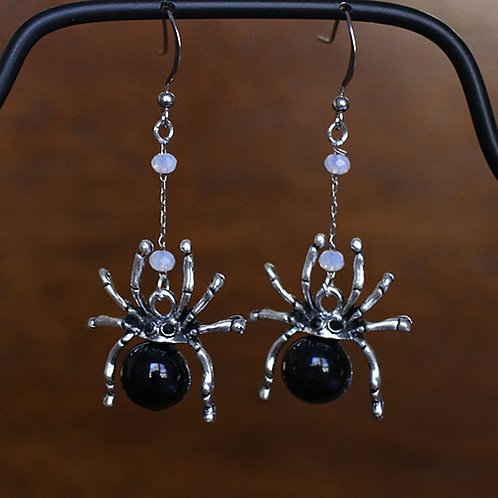 Drop Spider Earrings