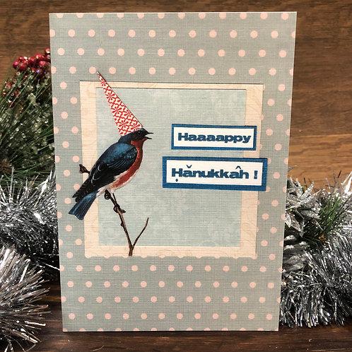 Happy Hanukkah Bird