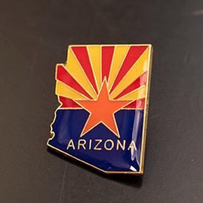 AZ State Flag Enamel Pin