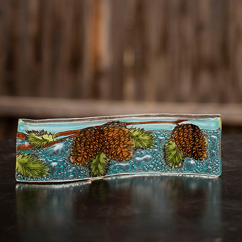 Pine Cone Wavy Picture Frame