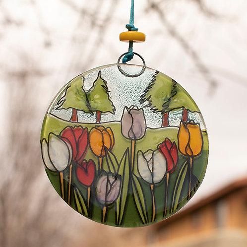Tulip Field Ornament