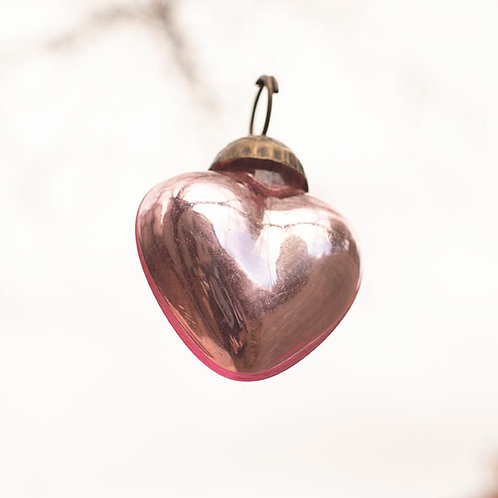 Heart Ornament (More Colors Available)