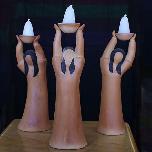 Terracotta Light Bearers