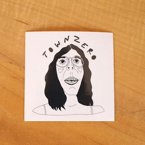 TownZero Sticker