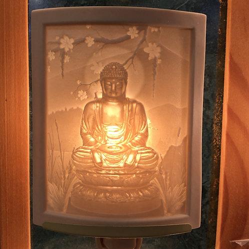 Buddha Porcelain Nightlight