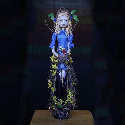 Blue Bottle Lady