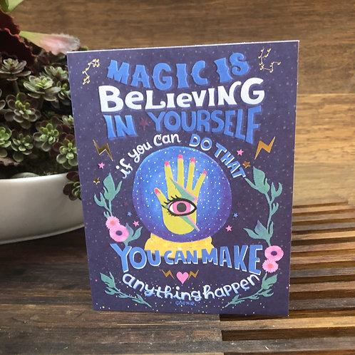 Believing in Yourself
