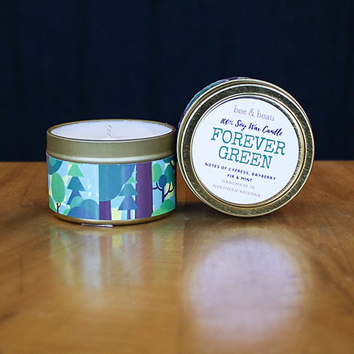 Forever Green Soy Candle