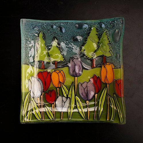 Tulip Field Dish