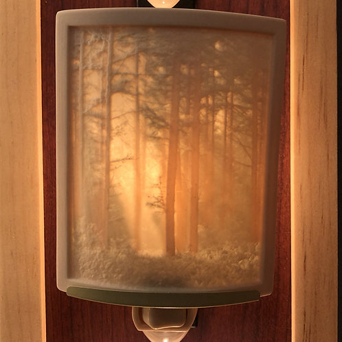 Woodland Sunbeams Porcelain Night Light